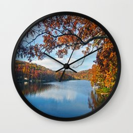 Autumn at Lake Killarney Wall Clock