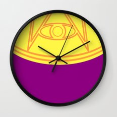 Ozymandias Wall Clock