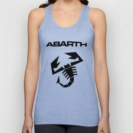 Abarth Scorpion Black Unisex Tank Top