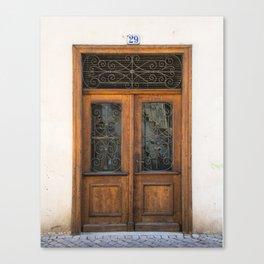 Door number twenty-nine Canvas Print