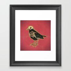 Dead Bird Framed Art Print