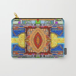 HydroCarbon Mosaic Carry-All Pouch