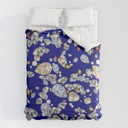 Colorful Crystals Design Comforters