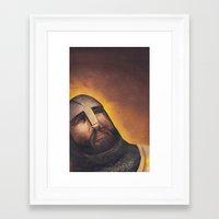 hamlet Framed Art Prints featuring Hamlet by Mono Ahn