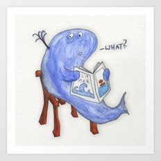 the whatwhale Art Print