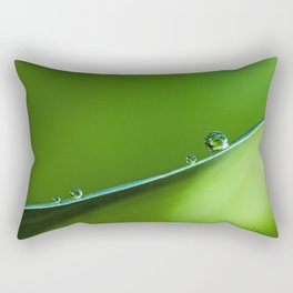 drops on the edge Rectangular Pillow