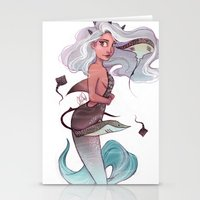 gemini Stationery Cards featuring Gemini by Laia™