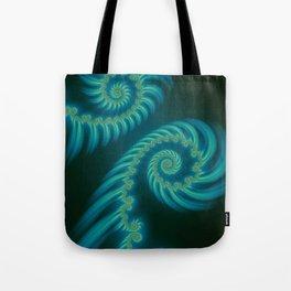 Entering the Vortex - Fractal Art Tote Bag