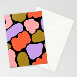 Abstract five Stationery Cards