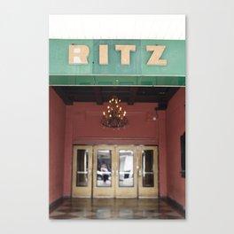 Vintage Ritz Canvas Print