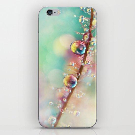 Rainbow Smoke Drops iPhone & iPod Skin