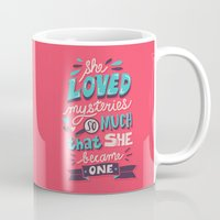 paper towns Mugs featuring Paper Towns: Mysteries by Risa Rodil