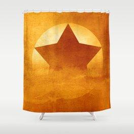 Start Composition Shower Curtain