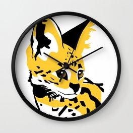 Serval 01 Wall Clock