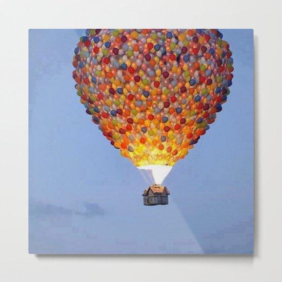 ballons home Metal Print