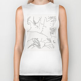 Living my life with you Biker Tank