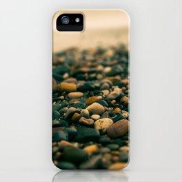 Stones on the beach iPhone Case