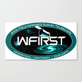 WFIRST Science Team Logo Canvas Print