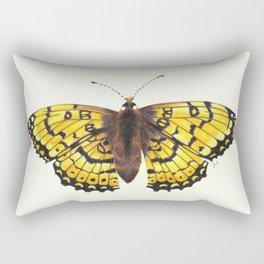 Fritillary Butterfly Rectangular Pillow