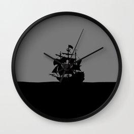 ship in the ocean Wall Clock