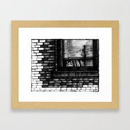 frederick street Framed Art Print