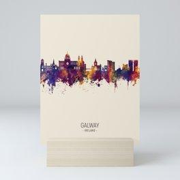 Galway Ireland Skyline Mini Art Print