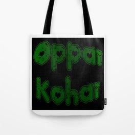 Oppai Kohai in Bubblegum Tote Bag