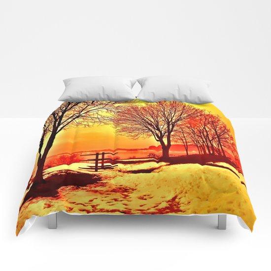 Autumn Lake Comforters