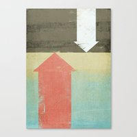 arrows Canvas Prints featuring Arrows by Metron