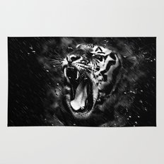 Tiger Head Wildlife Rug