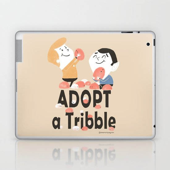 Adopt a Tribble Laptop & iPad Skin