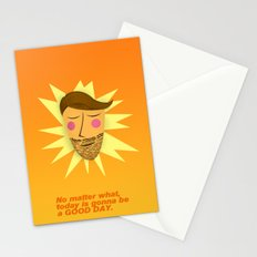 Gonna be a good day Stationery Cards