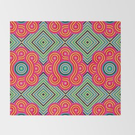 Cosmic Vibrations Within Throw Blanket