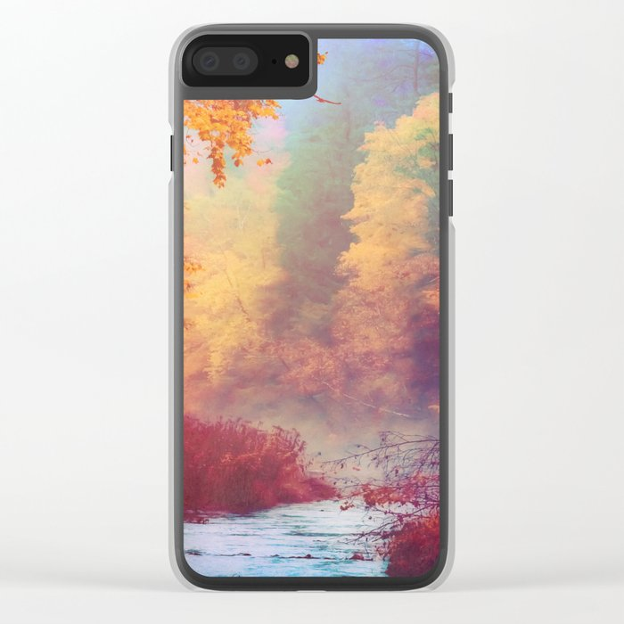 Dreams Remembered Clear iPhone Case