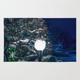 lamp post Rug