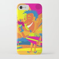 surfer iPhone & iPod Cases featuring Surfer by Roberlan Borges