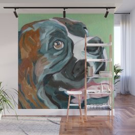 Boudreaux the Boxer Wall Mural