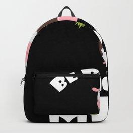 Vegan NO meat milk cow Backpack