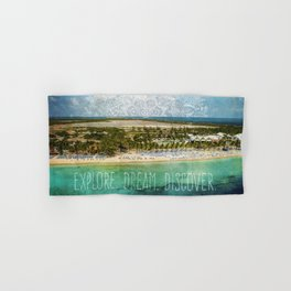 Explore. Dream. Discover. Hand & Bath Towel