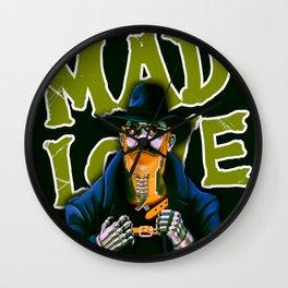 Dr. Gogol's Mad Love Wall Clock