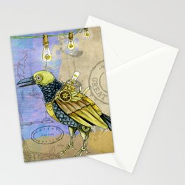 Grunge Wings Stationery Cards