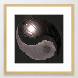 Substance: Ying Yang Framed Art Print