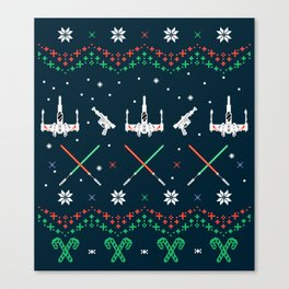 A Rogue Christmas Canvas Print