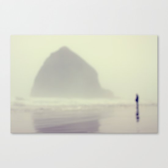 i saw you standing there Canvas Print
