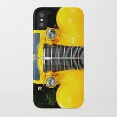 Yellow Chevy Slim Case iPhone X