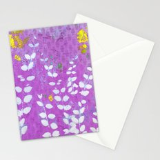 Ferns And Orchid Skies Stationery Cards