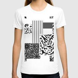Geometric patchwork 1 T-shirt