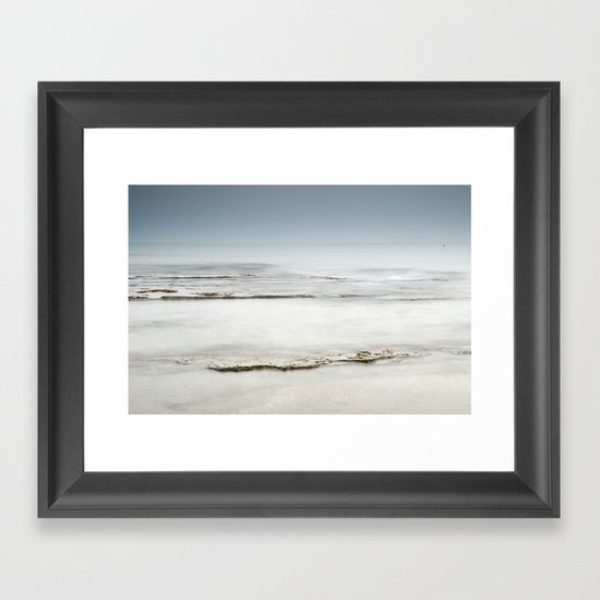 """Sea of ​​tranquility"" Framed Art Print"