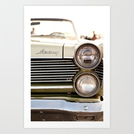 Antique  Mercury Art Print