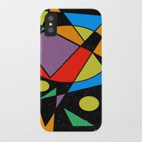 kandinsky iPhone & iPod Cases featuring Abstract #130 by Ron (Rockett) Trickett